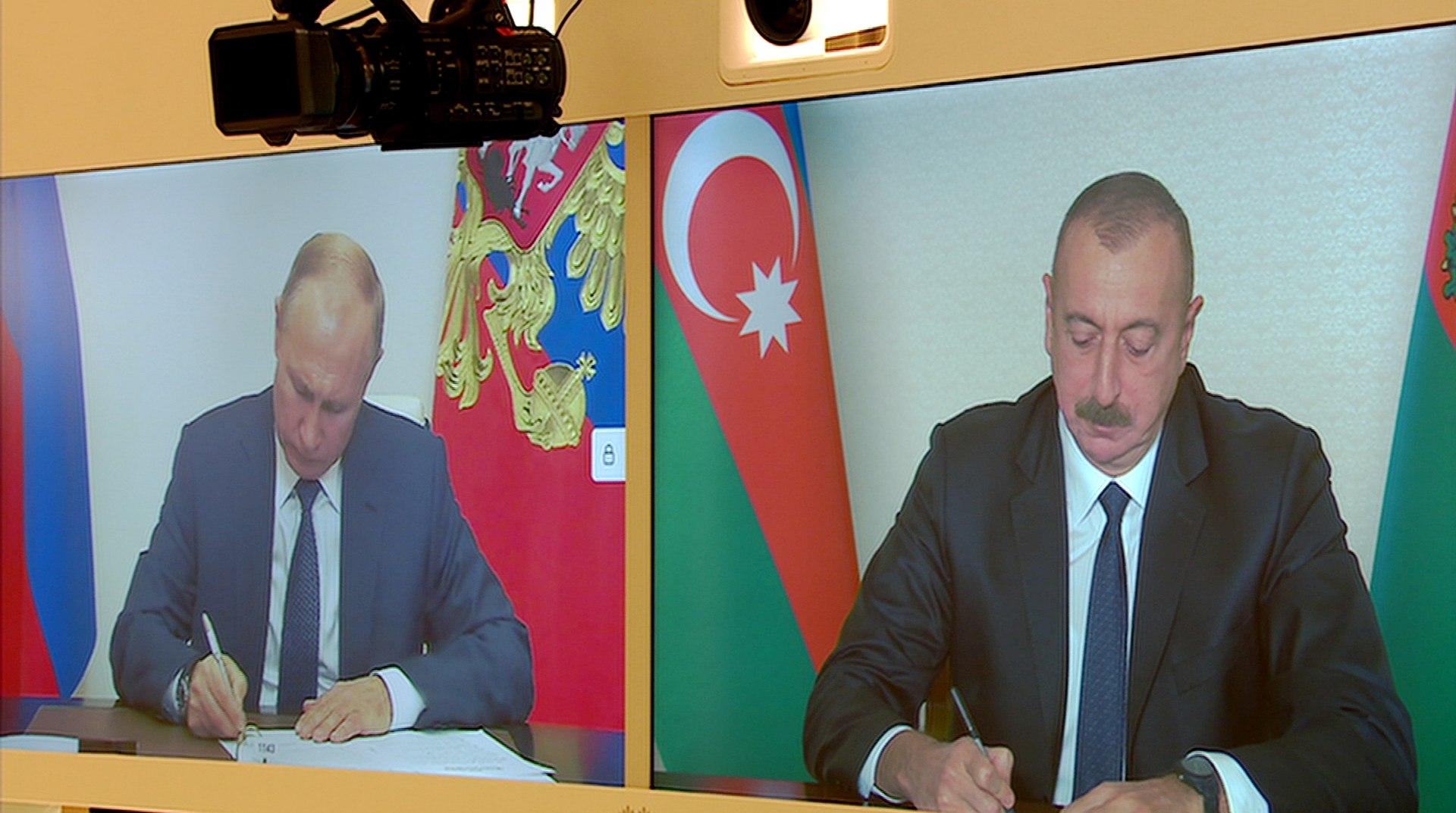 2020 Nagorno-Karabakh ceasefire agreement